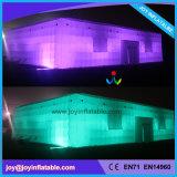 De openlucht Tent van de Partij van de Gebeurtenis Opblaasbare Kubieke met LEIDEN Licht (Tent2-055)