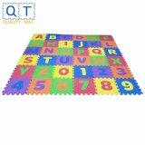 Qt Mat inodore Alphabets en mousse EVA & Numbers Puzzle Tapis pour enfants Le tapis de plancher de verrouillage de jouets pour bébés Tapis de jeu