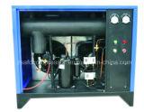 Uso do fósforo do secador do ar refrigerando de água da máquina de secagem do compressor com compressor