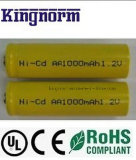 1.2V 1000mAh AA NiCd Batterie-Zelle