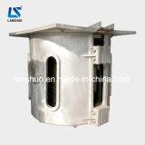 fornalha de derretimento média do ferro da indução da freqüência de 750kg Kgps