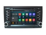 最も新しいアンドロイド8.0車のAudi A4 (2002年- 2007年)のための可聴周波DVDプレイヤーのステレオのクォードのコード7のインチ2 DIN