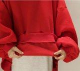 L'alta qualità all'ingrosso a buon mercato slaccia il maglione casuale Hoody con il manicotto lungo