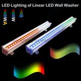 RGB/RGBW/RGBW van de LEIDENE van het pixel het Licht Wasmachine van de Muur voor OpenluchtToepassing
