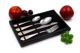 Cuillères et fourchettes de métal faible coût de l'hôtel Cutler en acier inoxydable