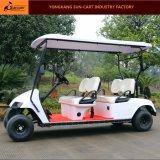新しいモデル4のSeaterのゴルフコースのための電気ゴルフカート