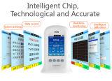 De digitale Echte Thermometer van het Weer, - tijd voor het Verslag van de Kwaliteit van de Lucht en Analyse