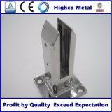 Balaustra di vetro quadrata dell'acciaio inossidabile dello zipolo