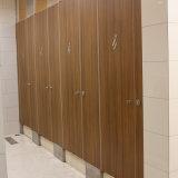 Dimension imperméable à l'eau en stratifié bon marché de compartiments de toilette de HPL