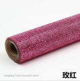 Feuilles adhésives Hotfix Rhinestone Hot Fix Rhinestone Crystal Mesh rouleau de fraisage (TM-SS6)