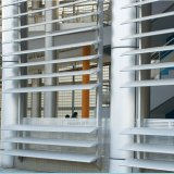 外部の使用のための工場価格のアルミ合金の陰のルーバー