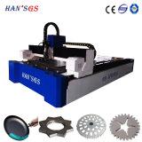 estaca de folha do alumínio de 1mm a de 6mm pela máquina de estaca do laser