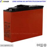batterie terminale avant d'accès du gel 12V100ah pour la mémoire solaire