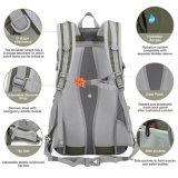 Sports extérieurs courants de course d'école s'élevant augmentant le sac à dos de sac à dos