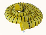 Ventilateur d'air conduits flexibles Flexible jaune