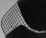 モーデンダイニングKDブラックバックPUクッションワイヤーダイヤモンドチェア