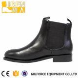 2017の方法黒いGenuinw牛革パレードの足首の人の靴