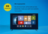 Memoria astuta 2.4G&5.8g WiFi del quadrato del contenitore 2GB 16GB di Android 6.0 TV del punto Tx5 PRO Amlogic S905X di P&Y 2016 nuovi