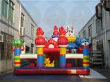 Campo da giuoco gonfiabile divertente, fabbrica commerciale del parco di divertimenti diretta
