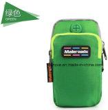 Sac courant personnalisé de bras de poids léger, sac pratique de bande de bras de sport en plein air augmentant le sac s'élevant de bras