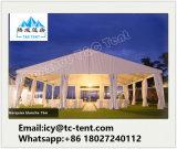 Tenda trasparente di lusso di cerimonia nuziale delle 500 genti con il tetto libero da vendere