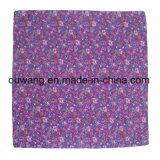 Bandana quadrato di Paisley del cotone molle promozionale stampato abitudine poco costosa