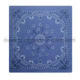 Cheap Wholesale Promotionnel Custom imprimé Cotton Bandana 22 * ​​22 ''