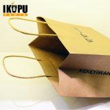 Sac de papier cadeau promotionnel, sac à provisions en papier, sac à papier imprimé