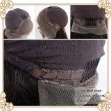 Pelucas llenas 100% del cordón del estiramiento del cordón del pelo brasileño de la Virgen