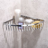 잘 고정된 목욕탕 부속품 코너 선반 저장 전시 선반 목욕탕 선반