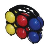 Напольная игра группы 6 Bocce частей комплекта шарика