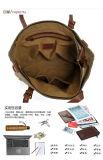 La preuve de l'eau toile Lady mode concepteur de sac à main (RS-2096)