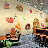 Papel pintado imprimible de encargo del mural de la decoración del restaurante del precio de fábrica