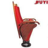 中国の製造の粉のパッドを入れられるコーティングの鉄骨フレームの火のRetardentファブリックカバーは教会椅子の価格をつける