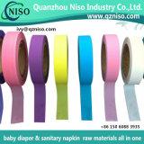 Fita adesiva de excelente facilidade de fita para guardanapo sanitários das matérias-primas
