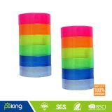 Briefpapier-Edelstein-Band des verschiedene Farben-Plastikkern-BOPP