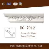 Cornicione della parte superiore Moulding/PU del poliuretano che modella per la decorazione del soffitto