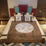 A mobília moderna a mais atrasada do quarto da base da madeira contínua (CH-623)