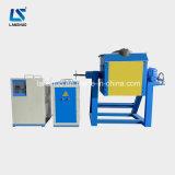 Опрокидывающ печь металла индукции плавя для медной выплавки (LSZ-45)