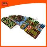 Populärer neuer Entwurf des weichen Innenspielplatzes mit Trampoline-Park 6603A