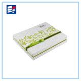 Роскошная бумажная коробка подарка с логосом напечатанным таможней