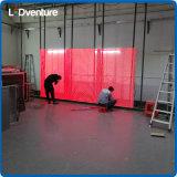 Visualizzazione trasparente di colore completo LED per le facciate della costruzione