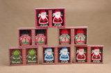 OEM de Decoratieve Kaars van uitstekende kwaliteit van het Ontwerp van Kerstmis