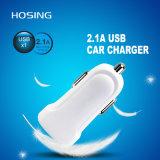 2.1A Mini-carregador USB branco para telefone celular Universal