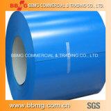 El color de la bobina de acero recubierto de PPGI con precios baratos Prepainted Galvalume bobinas de acero galvanizado PPGL PPGI Molino de la hoja de metal