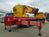 Группа 8X4 Clw 120 тонн вагона с краном с тяжелым краном