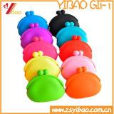 卸し売り高品質の多彩なシリコーンの硬貨の札入れ(YB-AB-034)