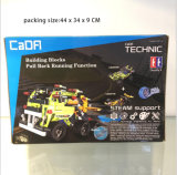 Kids Toy R / C Block Car com USB P. Bx