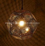 Оптовая торговля в европейском стиле проекта освещения пульта управления из нержавеющей нерегулярных раунда лампа подвески