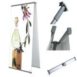 Forme de l'aluminium double faces Banner Stand
